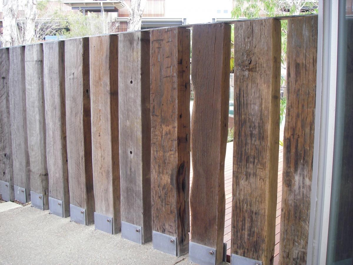 sleeper fence