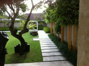 bali formal garden